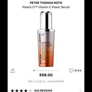 PETER THOMAS ROTH POTENT C VITAMIN C POWER SERUM